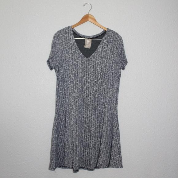 Anthropologie Dresses & Skirts - Anthro Dolan Left Coast Heathered Mini Dress sz Lg